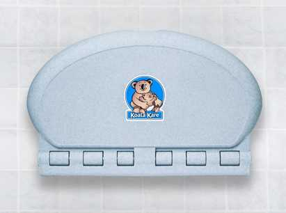 Diaper changing table in the mens room