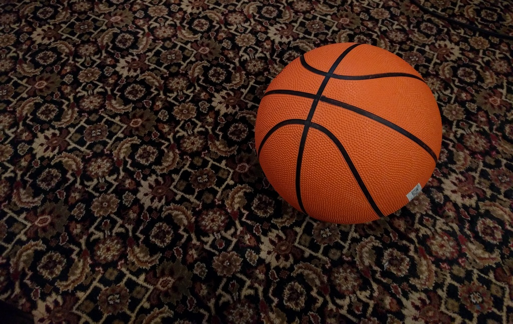 basketball on the floor parenting