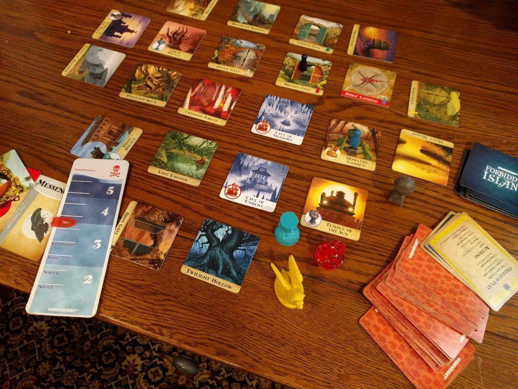 forbidden island game board