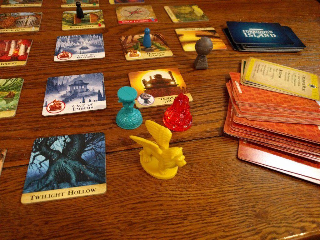 forbidden island game pieces
