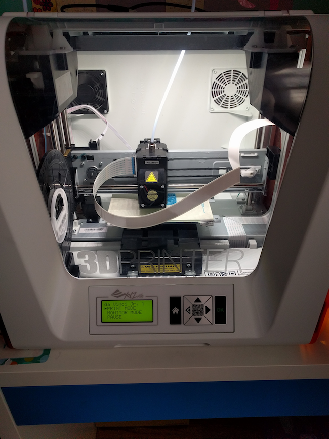 xyz jr 3d printer
